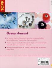Glamour charmant - 4ème de couverture - Format classique
