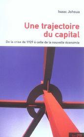 Trajectoire Du Capital - Intérieur - Format classique