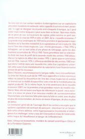 Trajectoire Du Capital - 4ème de couverture - Format classique
