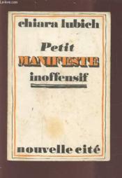 Petit Manifeste Inoffensif - Couverture - Format classique