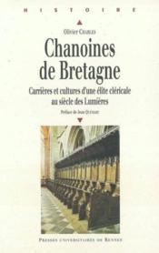 Chanoines De Bretagne - Couverture - Format classique