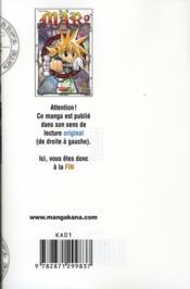 Mär t.9 - 4ème de couverture - Format classique