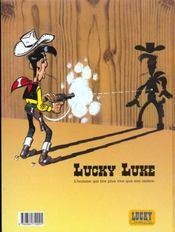 Lucky Luke t.56 ; le ranch maudit - 4ème de couverture - Format classique