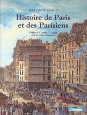 Histoire De Paris Et Des Parisiens - Intérieur - Format classique