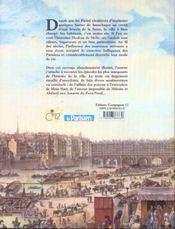 Histoire De Paris Et Des Parisiens - 4ème de couverture - Format classique