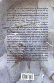 Memoires 1946-1954 Volume 3 - 4ème de couverture - Format classique