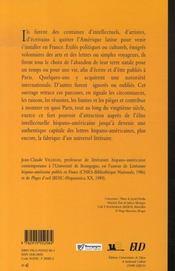 Paris, capitale littéraire de l'amérique latine - 4ème de couverture - Format classique