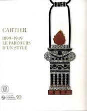 Cartier, 1899 - 1949 ; le parcours d'un style - Intérieur - Format classique