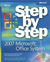 Vente livre :  The 2007 Microsoft Office System Step by Step  - Steve Preppernau