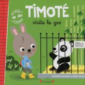 Timoté visite le zoo - Couverture - Format classique