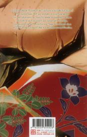 Ultimo t.8 - 4ème de couverture - Format classique
