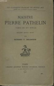 MAISTRE PIERRE PATHELIN. FARCE DU XVe SIECLE. - Couverture - Format classique