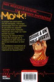 Monk t.5 - 4ème de couverture - Format classique
