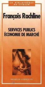 Services publics ; économie de marché - Couverture - Format classique