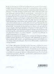 Dictionnaire Historique De La Gaule - 4ème de couverture - Format classique