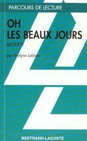 Oh les beaux jours, de Samuel Beckett - Intérieur - Format classique