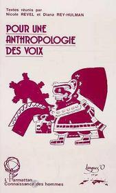 Pour une anthropologie des voix - Intérieur - Format classique