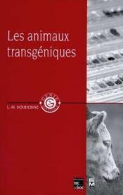 Les Animaux Transgeniques - Couverture - Format classique