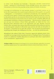 Les bricoleurs de l'indicible t.2 ; structurer, densifier l'intervention sociale - 4ème de couverture - Format classique