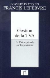 Gestion de la tva - Intérieur - Format classique