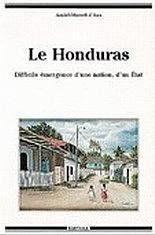 Le Honduras - Couverture - Format classique