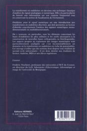 Ondelettes pour le signal numerique - 4ème de couverture - Format classique