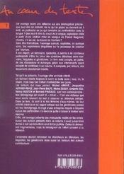 L'écriture et le souci de la langue ; écrivains, linguistes : témoignages et traces manuscrites - 4ème de couverture - Format classique