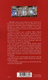 Le Pouvoir Et La Vie T.3 ; Choisir - 4ème de couverture - Format classique