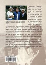 Sur Les Traces D'Henri De Monfreid - 4ème de couverture - Format classique