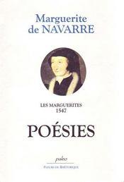 Les marguerites 1547 ; poésies - Intérieur - Format classique
