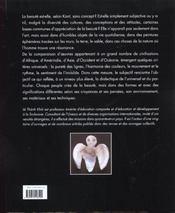 Un désir de beauté - 4ème de couverture - Format classique