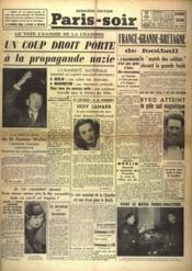 Paris Soir N°5992 du 12/02/1940 - Couverture - Format classique