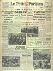 Petit Parisien Edition De Paris (Le) du 06/03/1941 - Couverture - Format classique