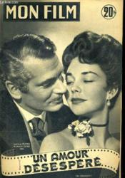 Mon Film N° 372 - Un Amour Desespere - Couverture - Format classique