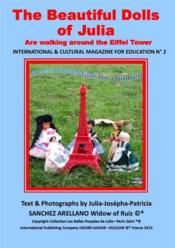 Vente  The beautiful dolls of Julia are walking around the Eiffel Tower  - Julia J.P. Sanchez - Julia-Josepha-Patricia Sanchez