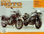 Rmt 88.5 Yamaha Xj 600 S/Honda Cbr 900 Rr (92/99) - Couverture - Format classique