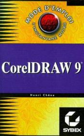 Coreldraw 9 ; mode d'emploi - Couverture - Format classique