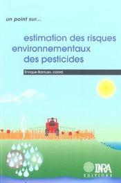 Estimation Des Risques Environnementaux Des Pesticides - Intérieur - Format classique