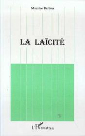 La Laicite - 4ème de couverture - Format classique
