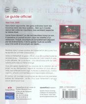 Fahrenheit guide officiel - 4ème de couverture - Format classique