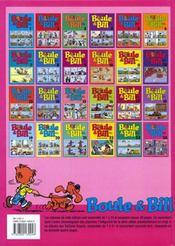Boule & Bill t.24 - 4ème de couverture - Format classique