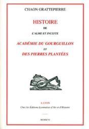 Histoire de l'alme et inclyte ; académie du Gourguillon et des pierres plantées - Couverture - Format classique