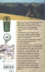 Lire une carte et s'orienter en randonnee - 4ème de couverture - Format classique