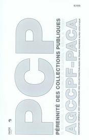 Pérennité des collections publiques - Intérieur - Format classique