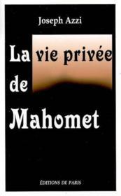 La Vie Privee De Mahomet - Couverture - Format classique