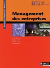 Méthodes actives ; management des entreprises ; BTS 2ème année ; livre de l'élève (édition 2009) - Couverture - Format classique