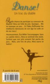 Danse ! T.11 ; un trac du diable - 4ème de couverture - Format classique