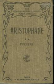 Theatre D'Aristophane. Tome Second. - Couverture - Format classique