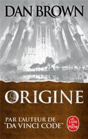 Vente livre :  Origine  - Dan Brown