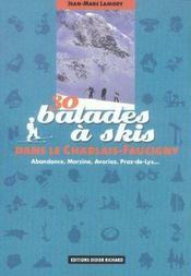 30 Balades A Skis Dans Le Chablais Faucigny - Intérieur - Format classique